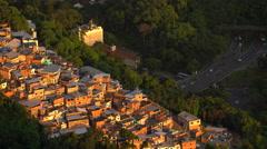 Guararapes Favela, Rio de Janeiro, Brazil, South America, elevated view, 4K Stock Footage