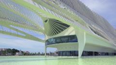 Museum of Tomorrow, Rio de Janeiro, Brazil, futuristic architecture, 4K Stock Footage