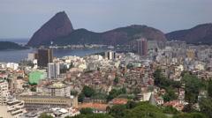 Favela in Rio de Janeiro, Brazil, South America Stock Footage