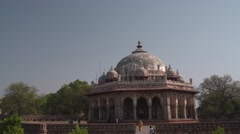Isa Khan's Tomb 4K Stock Footage