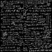 Maths vector background Stock Illustration