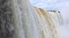 Iguacu Falls, Foz do Iguau, Iguacu (Iguazu) National Park, Brazil Stock Footage