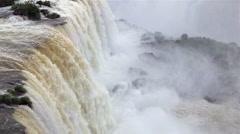 Iguacu Falls, Foz do Iguau, Iguacu (Iguazu) National Park, Brazil - stock footage