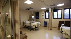 Hospital ER Semi Private Room - stock footage