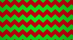 Geometric wave line motion background loop christmas red green Stock Footage