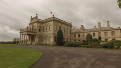 Grand Stately Home Stock Footage
