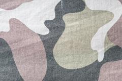 Khaki textile texture and background close up Stock Photos
