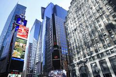 Times Square. New York City Kuvituskuvat