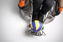 Sport for the disabled - stock photo