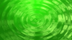 4k Green Bokeh Reflection in Water Ripple Animation Background Seamless Loop. - stock footage