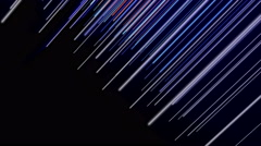 Futuristic animation with stripe object and light, 4096x2304 loop 4K Stock Footage