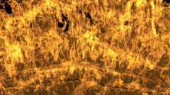Fire Wall Stock Footage