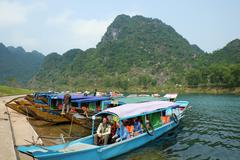 Phong Nha, Ke Bang cave, Vietnam travel Stock Photos
