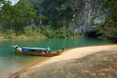 Phong Nha, Ke Bang cave, Vietnam travel - stock photo