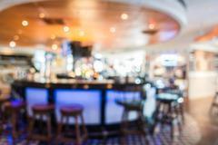 Abstract blur restaurant - stock photo