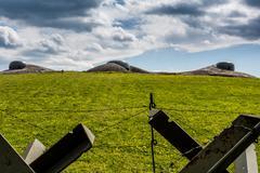 Czech fortification bunker Stock Photos