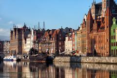 City of Gdansk Old Town Skyline - stock photo