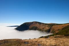 Karkonosze Mountains Landscape Stock Photos