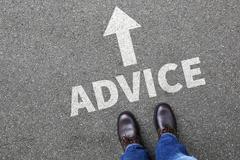 Advice support help assistance businessman business man concept problem solut - stock photo
