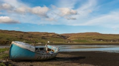 Time lapse of tide Scotland Stock Footage