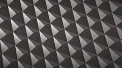 Infinite knurled chrome surface, version 2 Stock Footage