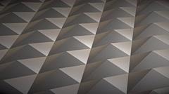 Infinite knurled chrome surface, version 4 - stock footage