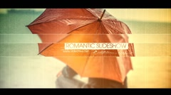 Romantic Slideshow Stock After Effects