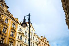 Old Town ancient architecture in Prague, Czech Republic Stock Photos