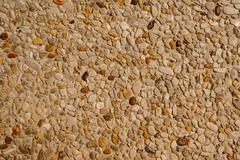 exposed aggregate concrete texture background - stock photo