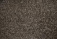 Background Texture, Close Up of Dark Brown Leather Texture Pattern Background - stock photo