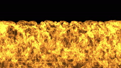 Fire Wall Slowmotion Stock Footage