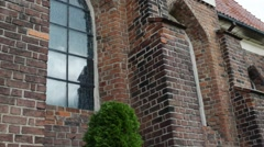 Church St. John Baptist in Gniezno, Poland Stock Footage