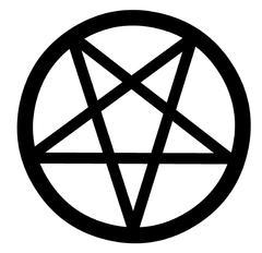 Pentacle Symbol - stock illustration