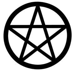 Pentagram Stock Illustration
