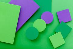 Material design colorful background Stock Photos