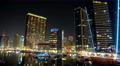 UHD 4K Dubai Marina night time lapse, United Arab Emirates 4k or 4k+ Resolution