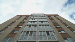 Multi-storey residential building Stock Footage