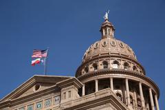 Texas state capitol building Stock Photos