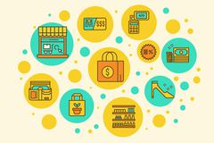 Retail Store - stock illustration