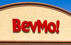Bevmo Retail Store Exterior and Sign - stock photo