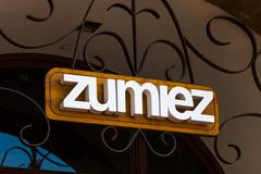 Zumiez Retail Store and Sign - stock photo