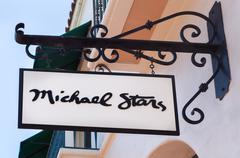 Michael Stars Retail Store and Exterior - stock photo