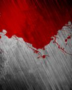 Blood on Grunge background - stock illustration
