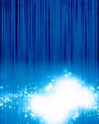 Blue stage background Stock Illustration