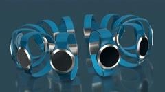 wearable technology, smartwatch - stock footage
