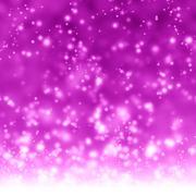 Glittering pink background - stock illustration