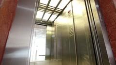 Elevator  doors open Arkistovideo