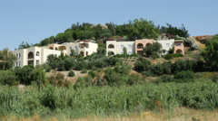 Greece Crete tourist development Stock Footage