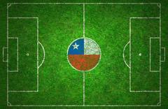 Football Pitch - stock photo