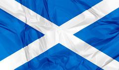 Flag of Scotland Stock Illustration